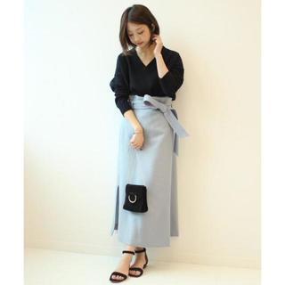 Noble - Noble ボタニーオーバータックロングタイトスカート.