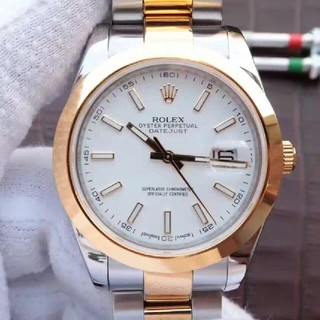 ロレックス(ROLEX)のロレックスログシリーズ126303男性リスト(腕時計(アナログ))