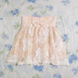 リズリサ(LIZ LISA)の♡LIZLISA オーガンジー スカート♡(ミニスカート)