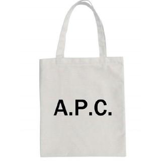 A.P.C - 【新品】APC ファスナー付き トートバッグ ホワイト