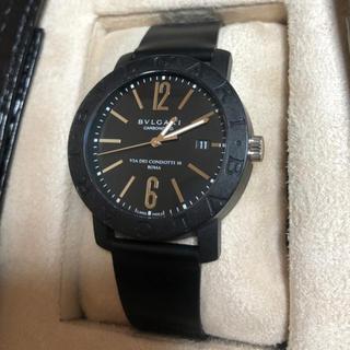 ブルガリ(BVLGARI)のブルガリ腕時計 自動巻 WG/カーボン(腕時計(アナログ))