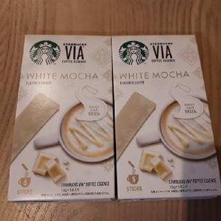 Starbucks Coffee - 【新品未開封】スターバックス VIA ホワイトモカ