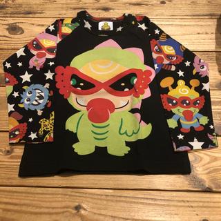 ヒステリックミニ(HYSTERIC MINI)のHYSTERICMINI ヒステリックミニ 長袖 恐竜 タグ付き 新品  80(Tシャツ)