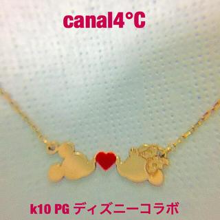 canal4℃ - カナル4℃  k10 ミッキー♡ミニー ネックレス✨ディズニーコラボ