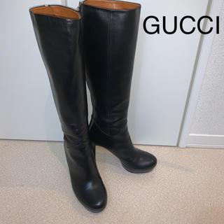 グッチ(Gucci)のグッチ ロングブーツ 37 約24cm(ブーツ)