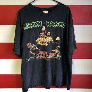 フィアオブゴッド(FEAR OF GOD)のコピーライト入りオリジナル Marilyn Manson ヴィンテージT(Tシャツ/カットソー(半袖/袖なし))