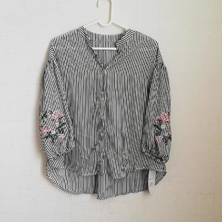 神戸レタス - ストライプシャツ