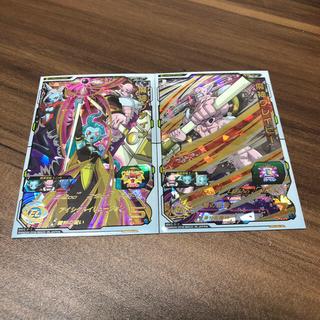 ドラゴンボール(ドラゴンボール)のスーパードラゴンヒーローズ 魔神プティン、魔神グレイビー SH2-57.58(カード)