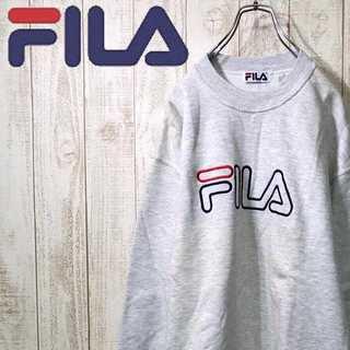 フィラ(FILA)の【00-62】フィラ スウェット 裏起毛 ビッグシルエット メイドインカナダ(スウェット)