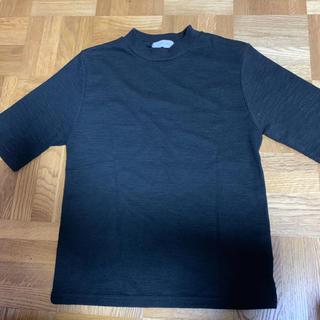 ロキエ(Lochie)のhigh-neck black tee(Tシャツ/カットソー(半袖/袖なし))