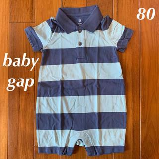 babyGAP - 新品☆babygap☆ポロショートオール☆80㎝