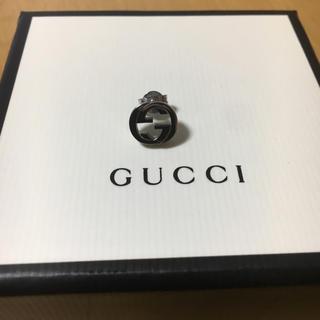 グッチ(Gucci)のGUCCI インターロッキング ピアス 片耳(ピアス)