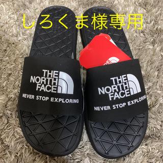 ザノースフェイス(THE NORTH FACE)の日本未発売!ノースフェイス♡サンダル ブラック 23.0 23.5(サンダル)