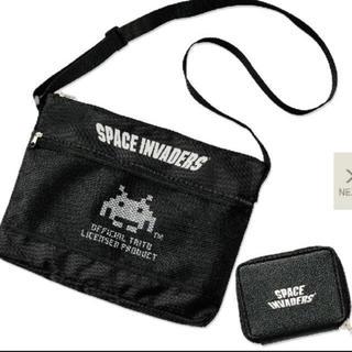 スペースインベーダー サコッシュ 財布