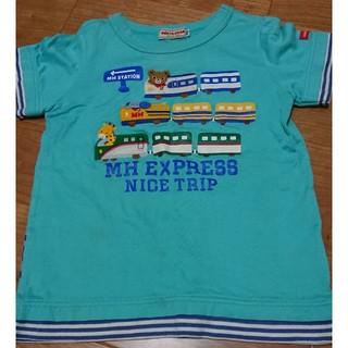 ミキハウス(mikihouse)のミキハウス 新幹線 T シャツ 100cm(Tシャツ/カットソー)