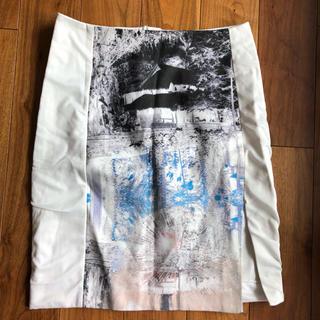 エイチアンドエム(H&M)のH&M 膝丈スカート 40(ひざ丈スカート)