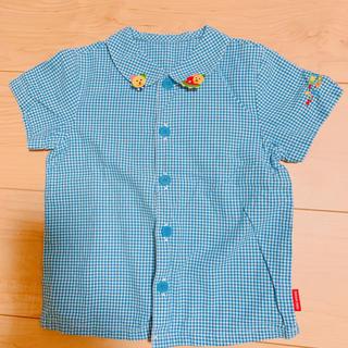 ミキハウス(mikihouse)の美品ミキハウス シャツ(Tシャツ/カットソー)