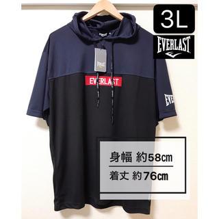 エバーラスト(EVERLAST)の新品タグ付き 大きいサイズ3L エバーラスト EVERLAST 吸水速乾Tシャツ(Tシャツ/カットソー(半袖/袖なし))