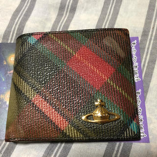 ヴィヴィアンウエストウッド(Vivienne Westwood)のvivienne westwood 二つ折り財布(折り財布)