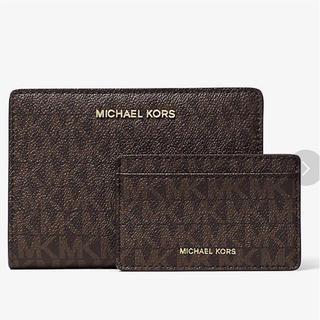 マイケルコース(Michael Kors)の大人気 マイケルコース  カードケース付き折り財布(折り財布)