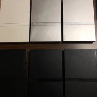 プレイステーション2(PlayStation2)のPS2本体6台セット(家庭用ゲーム本体)