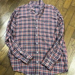 サンローラン(Saint Laurent)のメンズ チェックシャツ イヴサンローラン サンローラン  YSL チェック(Tシャツ/カットソー(七分/長袖))