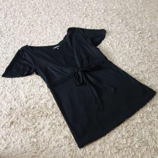 インディヴィ(INDIVI)のINDIVI/リボンブラウス(シャツ/ブラウス(半袖/袖なし))