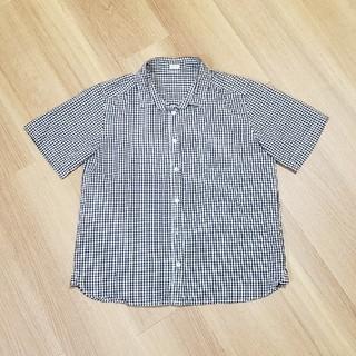 ジーユー(GU)のギンガムチェック シャツ GU (シャツ/ブラウス(半袖/袖なし))