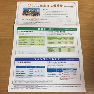 ホンダ(ホンダ)のホンダ 株主優待 鈴鹿サーキット(遊園地/テーマパーク)