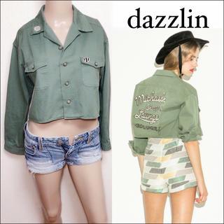 dazzlin - dazzlin アメフトクラブシャツ ミリタリージャケット♥️SALE♥️