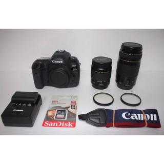 Canon - 高画質 canon EOS 5D Mark IV 標準&望遠タブルレンズセット