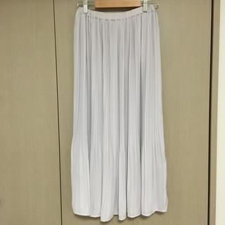 シマムラ(しまむら)のしまむら プリーツスカート Mサイズ(ロングスカート)