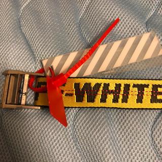 オフホワイト(OFF-WHITE)のoff-white ベルト(ベルト)