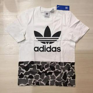 ◆新品◆アディダスオリジナルス Tシャツ 白/シュプリーム好きにも