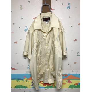 80s キューバシャツ ビックサイズ 美品 vintage(シャツ)