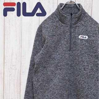 フィラ(FILA)の【01-101】フィラ ハーフジップスウェット プルオーバー ハイネック 霜降り(スウェット)