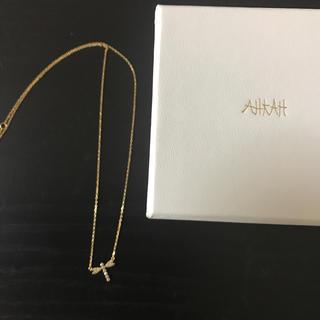 アーカー(AHKAH)のアーカー リベリュールパヴェネックレス 美品(ネックレス)