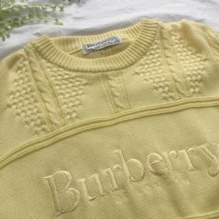 バーバリー(BURBERRY)の大人気‼︎Burberry*サマーニット*ワンピース風にも◎(ニット/セーター)