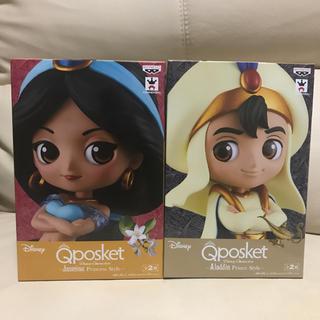 Disney - Qposket  アラジン&ジャスミン タイプAセット