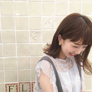 flower - flower lace blouse