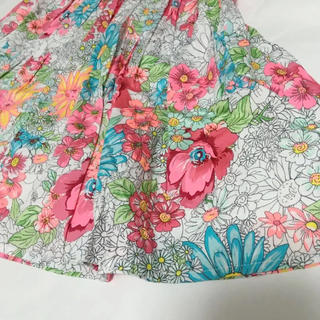 monsoon 花柄 コットンワンピース ドレス 120〜発表会にも姉妹お揃い(ワンピース)