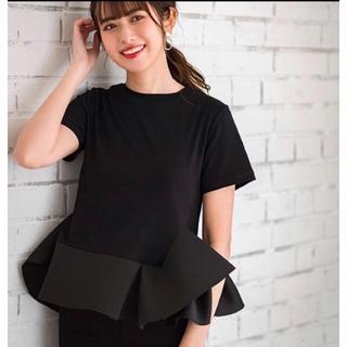 IENA SLOBE - フリルTシャツ