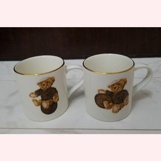 ルイヴィトン(LOUIS VUITTON)の新品  超レア  プレミア  ルイヴィトン  シュタイフ  コラボ  マグカップ(食器)