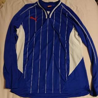 プーマ(PUMA)のPUMA PARAMEXICOブルー長袖Tシャツ 新品未使用(Tシャツ/カットソー(七分/長袖))