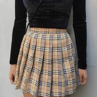 dholic - 韓国ファッション チェック柄 スカート