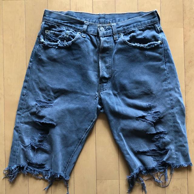 Levi's(リーバイス)の【ジーンズ】Levi's 501 ブラック メンズのパンツ(デニム/ジーンズ)の商品写真