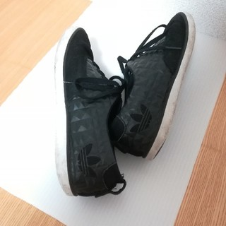 adidas - *アディダス*黒スニーカー*23.5cm*