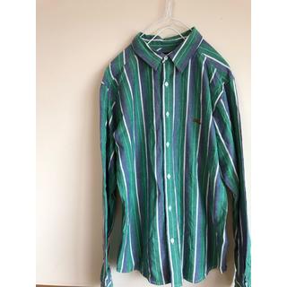90's テイスト octopusarmy ストライプシャツ 長袖
