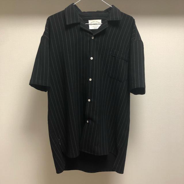 【古着】ストライプシャツ ビッグシルエット L〜XL メンズのトップス(シャツ)の商品写真