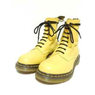 ドクターマーチン(Dr.Martens)の【定価¥25920】ドクターマーチンUK6パスカルPASCALイエロー8ホール(ブーツ)